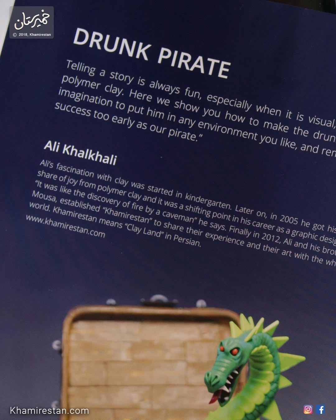 Polymer Week - Pirate